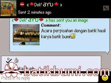 Pusat belanja batik