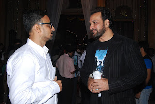 Camaal Mustafa Sikander with Shahbaz Khan