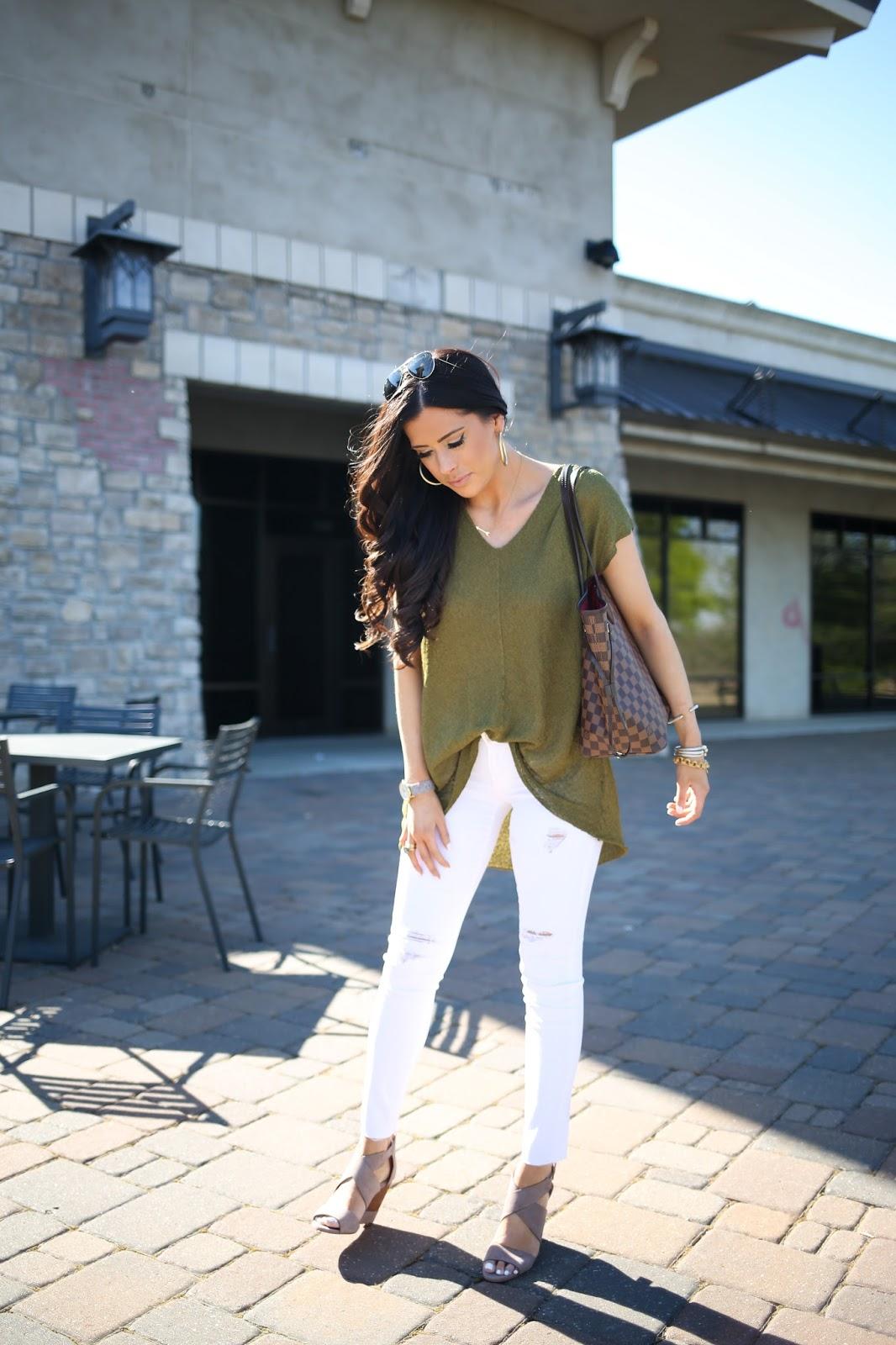 79326efe124b Spring Outfit + White Denim Review