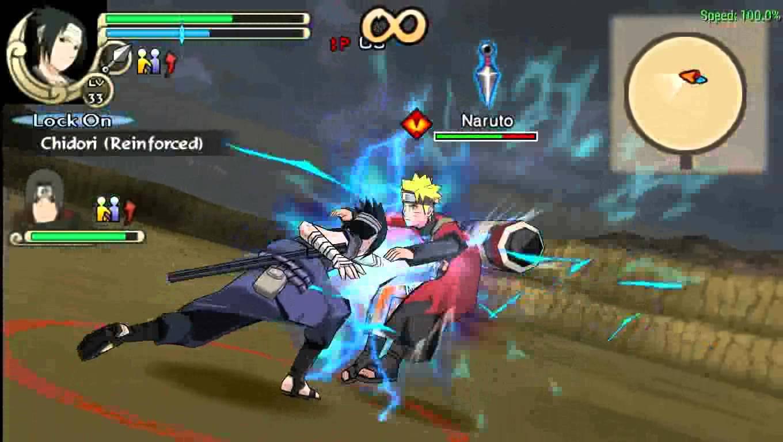 download game ppsspp naruto yang sudah di ekstrak