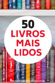 Livros mais lidos - Quantos você já leu dessa lista?
