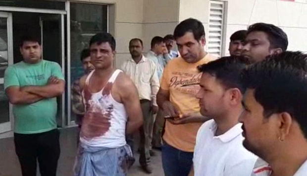 Khedikalan Dinadahadi bike riders killed in Faridabad by killing young man Ashok's bullets