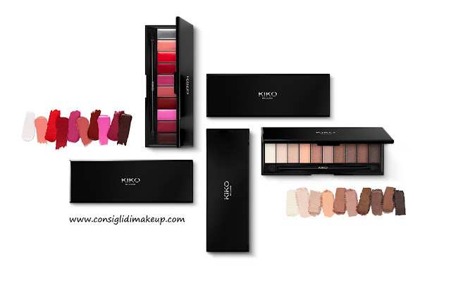 Preview: Smart Palette Eyes and Lips  -  Kiko Cosmetics