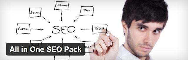 The All in One SEO Pack for optimised Search Engine Optimisation.
