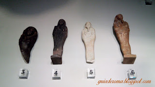 Ofertas egípcias no Museu Barraco de Roma