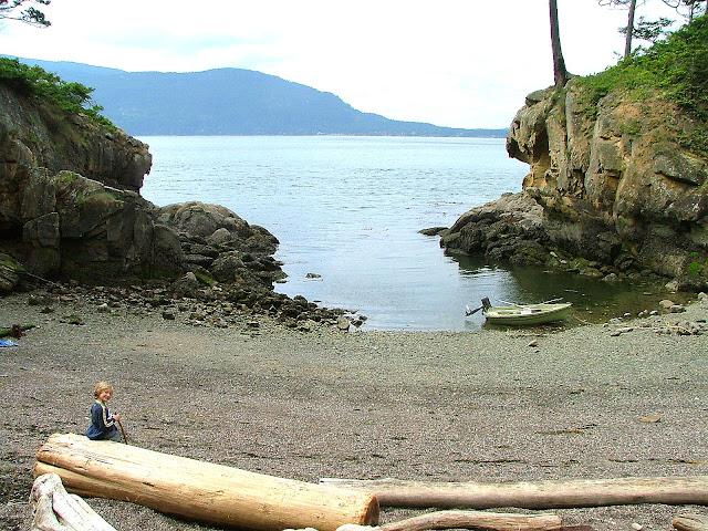 Matia Island cove #2