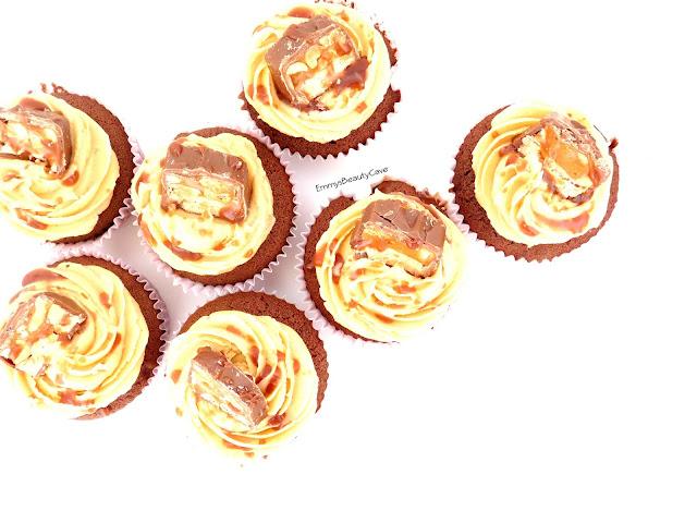 Snickers Cupcakes Recipe