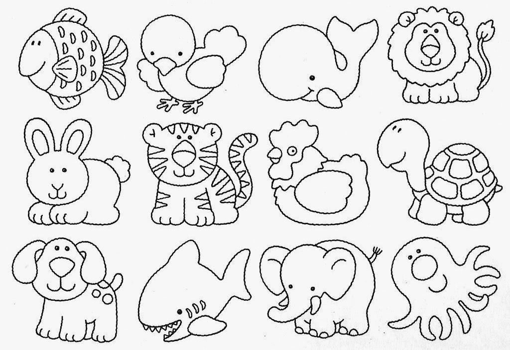 Desenhos De Animais Para Colorir - Colorir