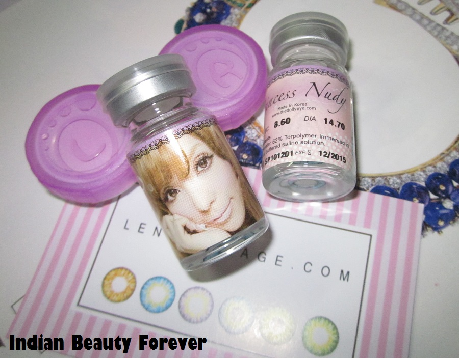Princess Nudyy Blue Contacts Review lensvillage