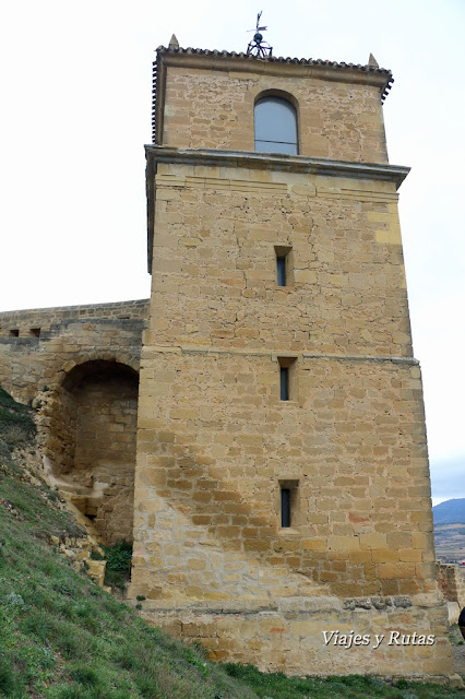 Torre del reloj, San Vicente de la Sonsierra, La Rioja