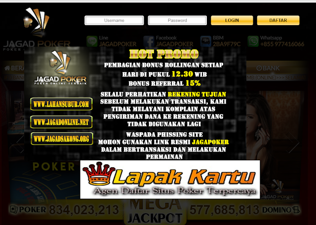 JAGADPOKER | AGEN POKER TERPERCAYA 2018 - POKER ONLINE INDONESIA