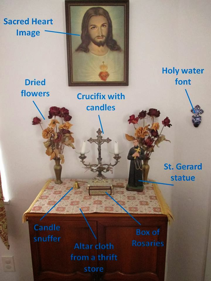 Splendor In The Home Setting Up A Home Altar