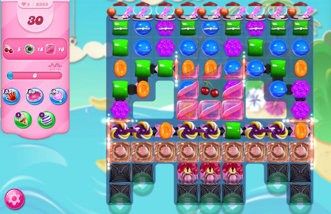 Candy Crush Saga level 6365