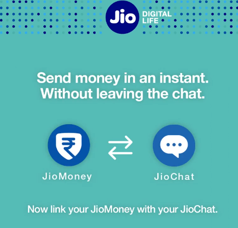How to send money instantly from Jio Chat by integrating the JioMoney wallet with the chat