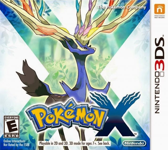 3DS Pokemon X Cover