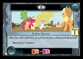 My Little Pony Rodeo Ruckus Equestrian Odysseys CCG Card