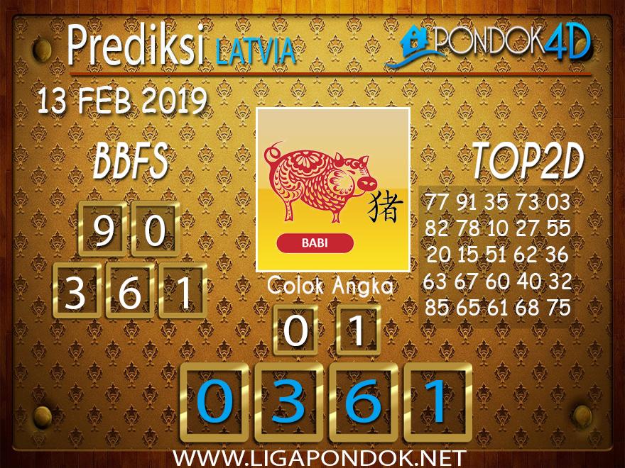 Prediksi Togel LATVIA PONDOK4D 13 FEBRUARI 2019