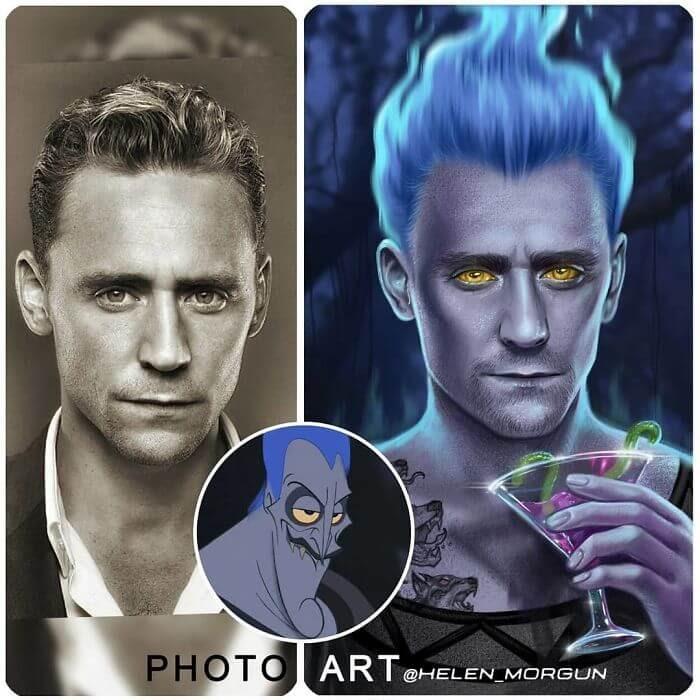01-Tom-Hiddleston-As-Hades-Helen-Morgun-Celebrities-and-Disney-www-designstack-co
