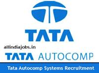 Tata AutoComp Systems Recruitment