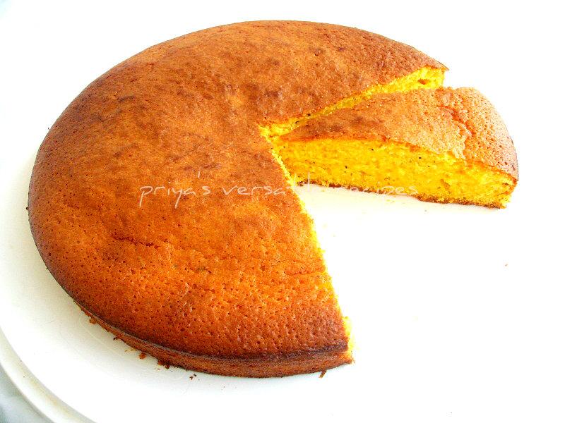 Whole Wheat Custard Sponge Cake Recipe Recipes