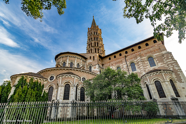 Basilique Saint-Sernin de Toulouse por El Guisante Verde Project