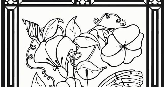 impatients coloring pages - photo#6