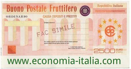 Buoni Fruttiferi Postali per minorenni 2017 documenti, calcolo, come acquistare