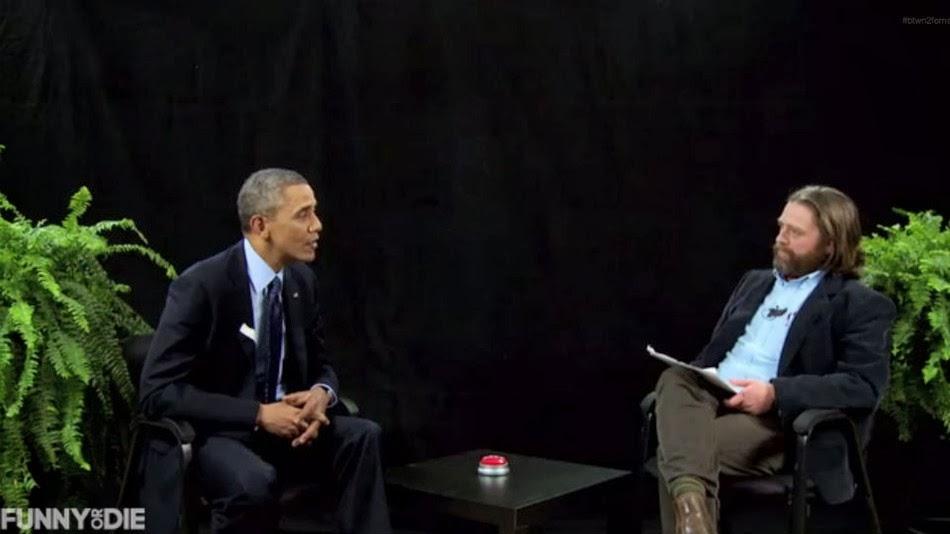 President Obama does interview with Zach Galifianakis