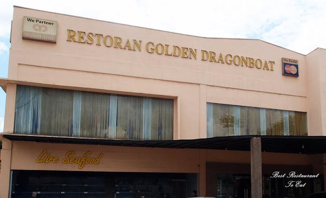 Golden Dragonboat Restaurant Parking