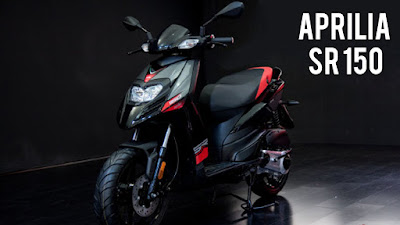 Upcoming 2016 Aprilia SR 150  Hd Wallpapers 011