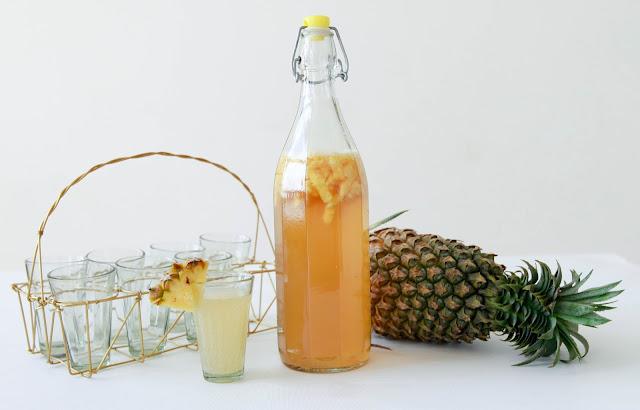 loveurbelly Pineapple Kombucha Tea Recipe