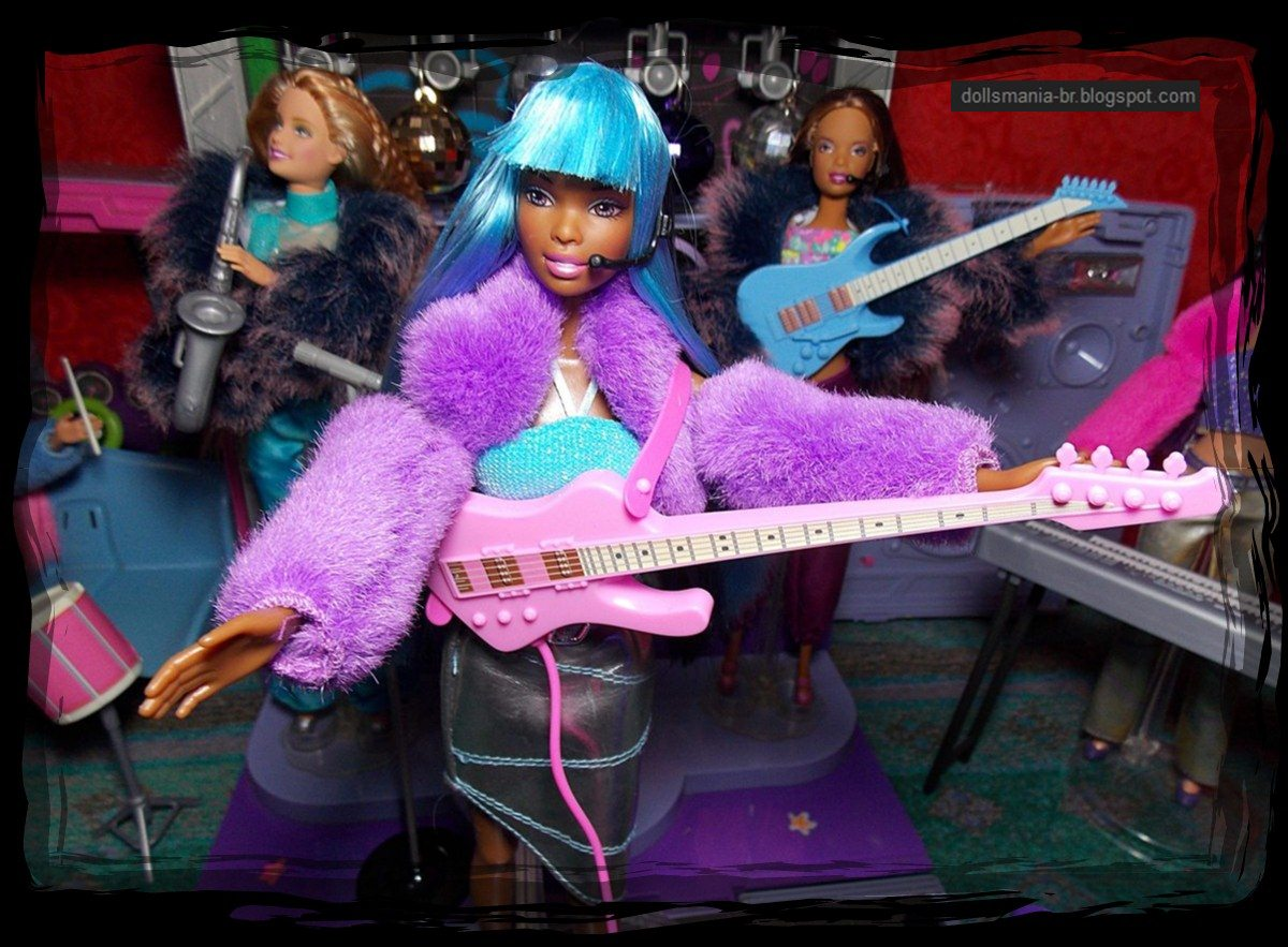 Barbie Jam N Glam Tour Bus