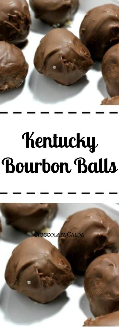 Kentucky Bourbon Balls #dessert #ballschoco