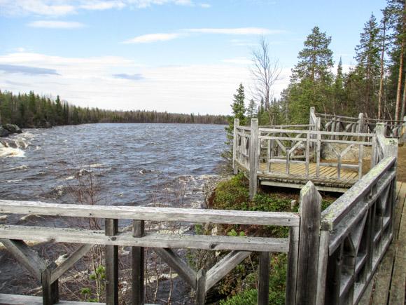 Äijäkosken näköalapaikka Muonio