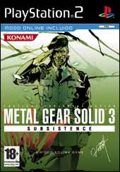 Metal Gear Solid 3 Subsistence | PS2