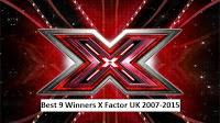 9 Juara X Factor UK 2007-2015