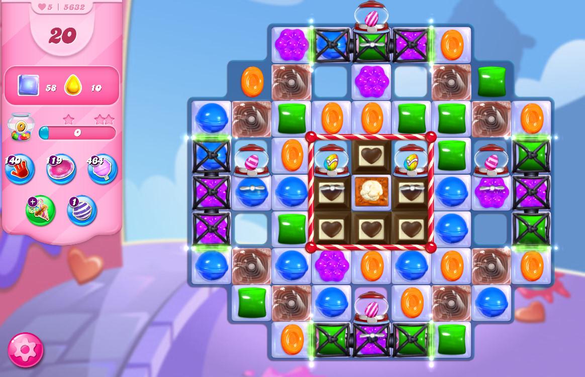 Candy Crush Saga level 5632