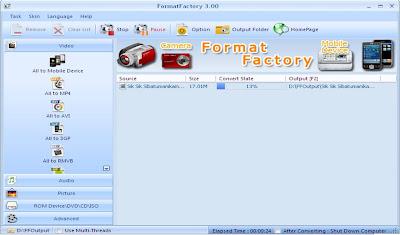 Cara Merubah Format Video Menggunakan Format Factory