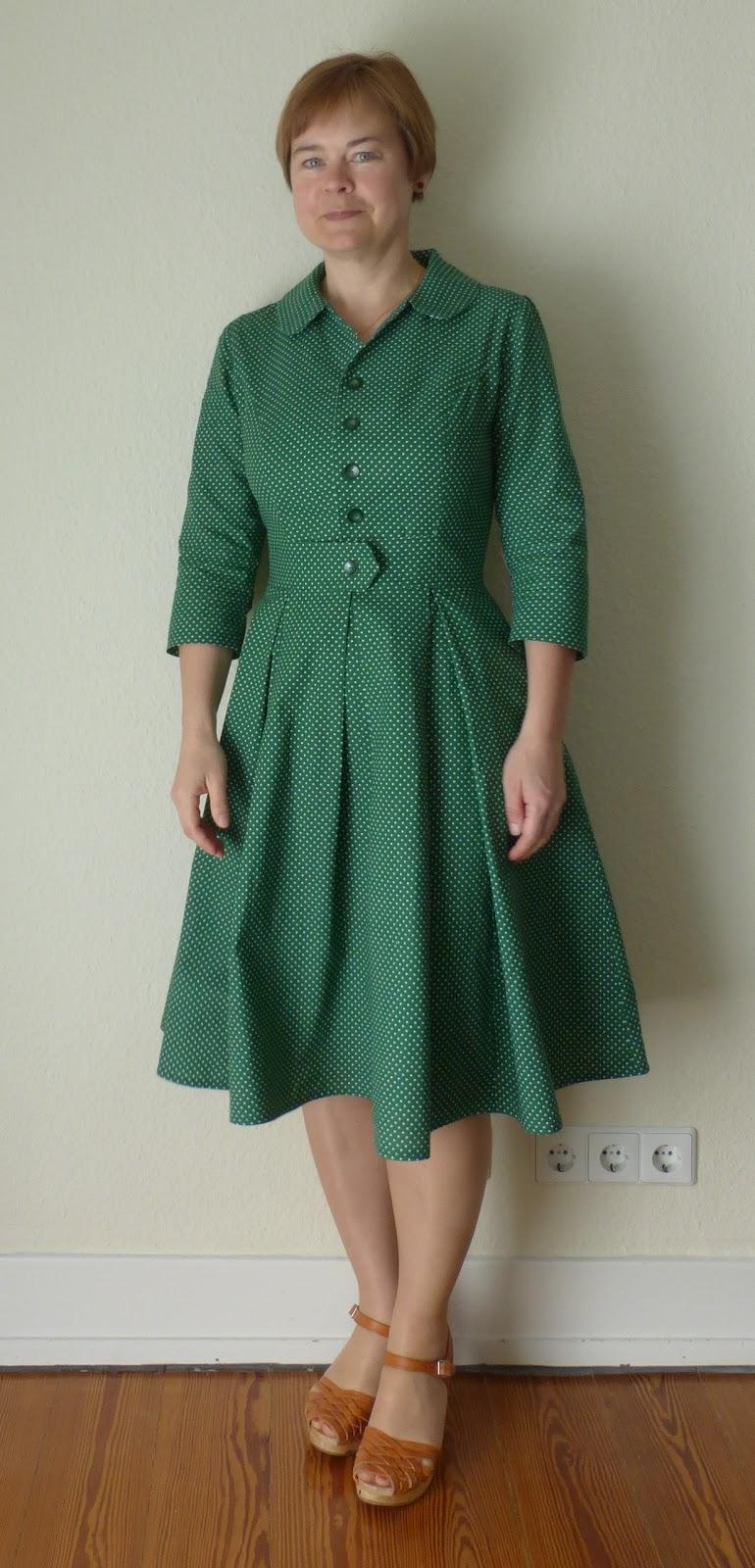 Kleidermanie: Ein Kleid nach einem Vintage-Schnittmuster aus den ...