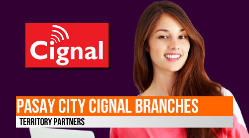 List: Pasay City Cignal branches (Territory Partners)