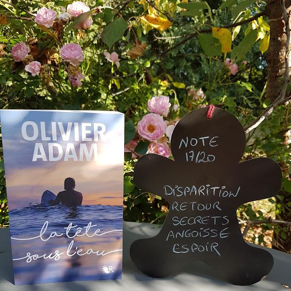 La Tête sous l'eau de Olivier Adam