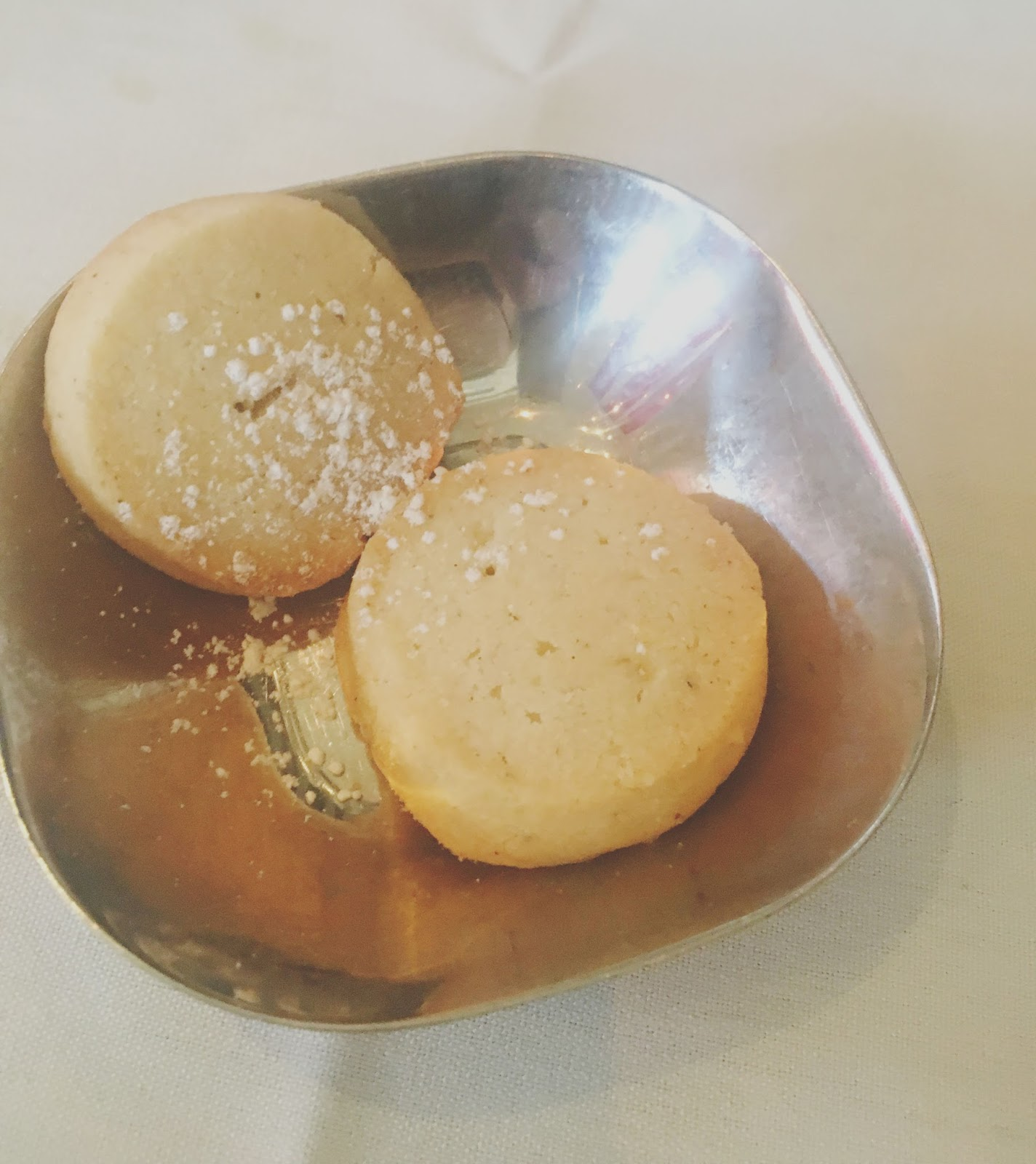 cookies at Indika - an Indian restaurant in Houston, Texas
