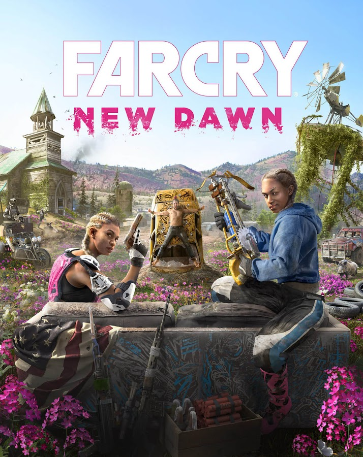 far cry new dawn ubisoft spin off key cover art