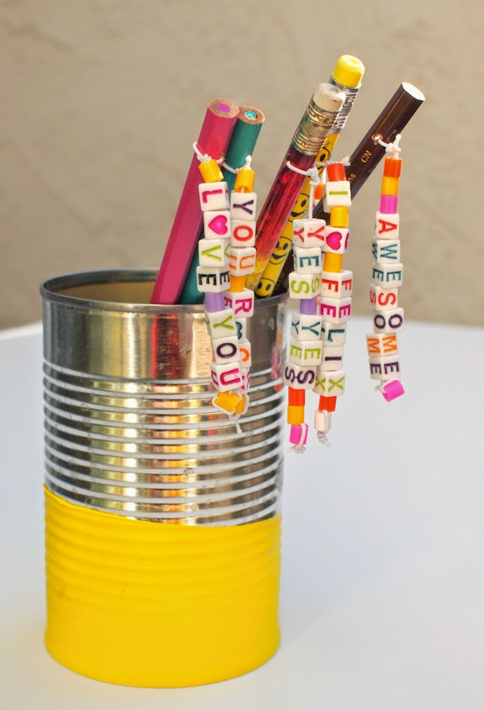 super cute personalized pencil toppers