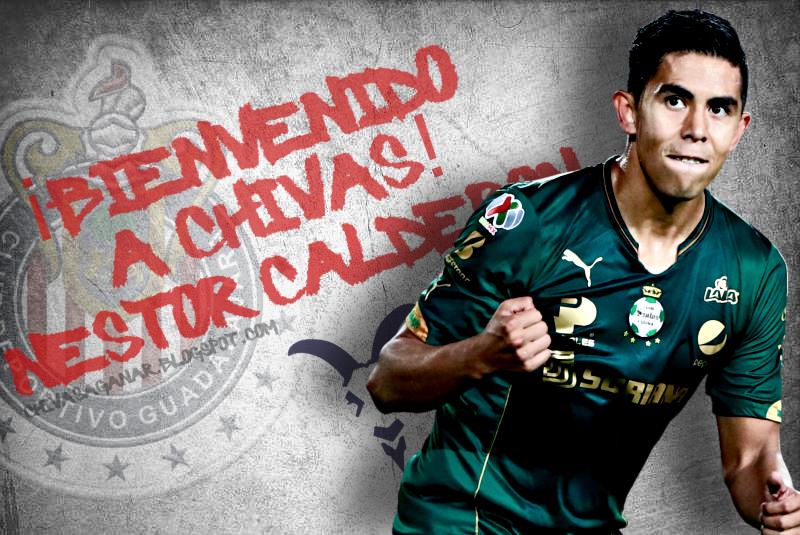 Chivas oficializa la llegada de Néstor Calderón.