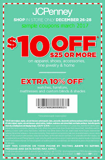 JCPenney coupons march
