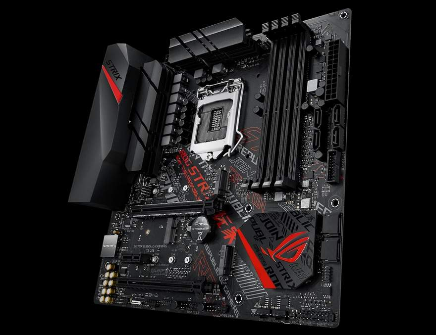 ASUS ประกาศเปิดตัวเมนบอร์ดที่ใช้ B365 chipset รุ่นแรกในสาย ROG Strix
