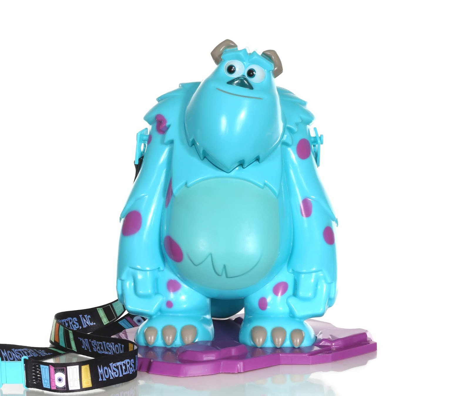 pixar fest sulley popcorn bucket review