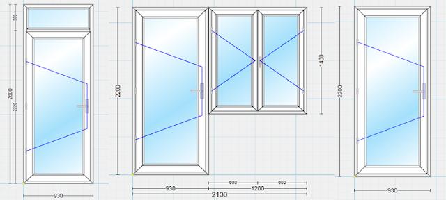 Những kích thước cửa phòng ngủ khác khi có thiết kế khác
