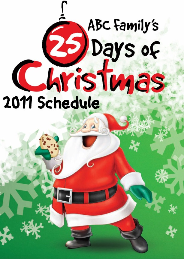 Abc Family Christmas.The Holidaze Abc Family S 25 Days Of Christmas Schedule